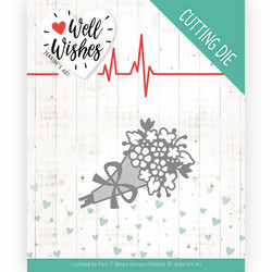 Jeanines Art Well Wishes stanssi Bouquet