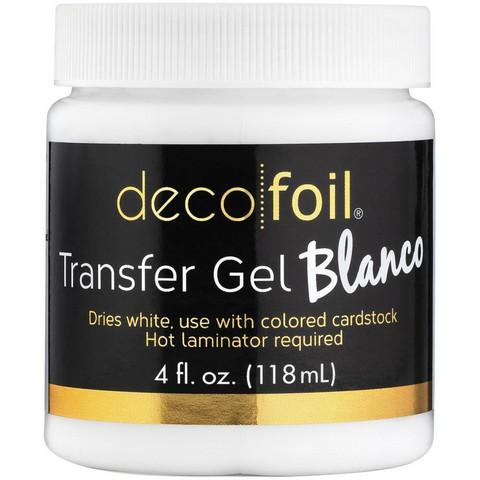 Deco Foil Transfer Gel Blanco