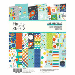 Simple Stories Birthday Blast -paperipakkaus