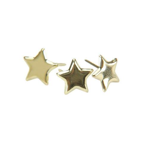 Haaraniitit, tähti, kulta, n. 50 kpl