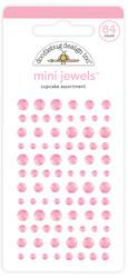 Doodlebug Design Mini Jewels -tarratimantit, Cupcake