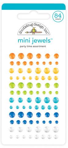 Doodlebug Design Mini Jewels -tarratimantit, Party Time