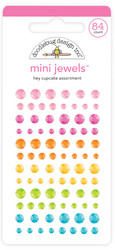 Doodlebug Design Mini Jewels -tarratimantit, Hey Cupcake