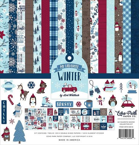 Echo Park My Favorite Winter -paperipakkaus, 12