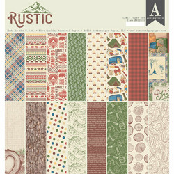Authentique paperipakkaus Rustic, 12