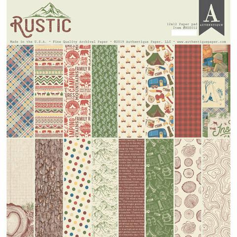Authentique paperipakkaus Rustic, 12