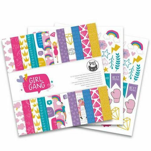Piatek paperipakkaus Girl Gang, 12
