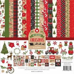 Echo Park My Favorite Christmas -paperipakkaus, 12