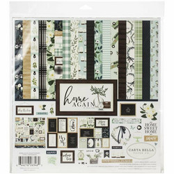 Carta Bella Home Again -paperipakkaus, 12