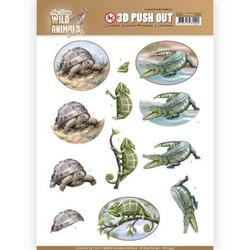 Amy Design Wild Animals Outback 3D-kuvat Reptiles