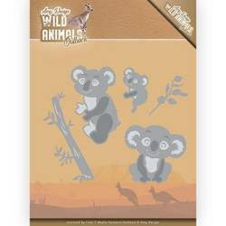 Amy Design Wild Animals Outback stanssisetti Koala