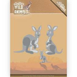 Amy Design Wild Animals Outback stanssisetti Kangaroo