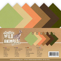 Amy Design Wild Animals Outback kartonkipakkaus, A5