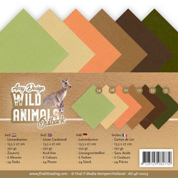 Amy Design kartonkipakkaus Wild Animals Outback, 13.5 x 27 cm
