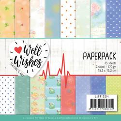 Jeanines Art paperipakkaus Well Wishes