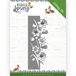 Amy Design Botanical Spring stanssisetti Daffodil Border