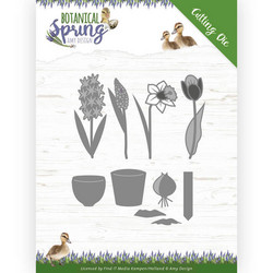 Amy Design Botanical Spring stanssisetti Bulbs and Flowers