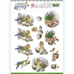 Amy Design Botanical Spring 3D-kuvat Happy Ducks