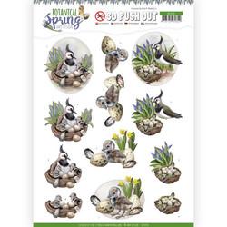 Amy Design Botanical Spring 3D-kuvat Lapwing