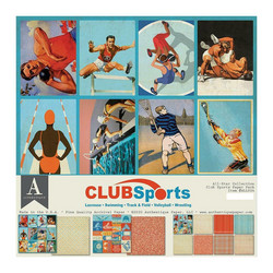 Authentique Collection Kit Club Sports, 12
