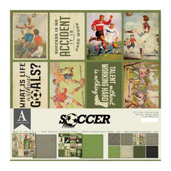 Authentique Collection Kit Soccer, 12