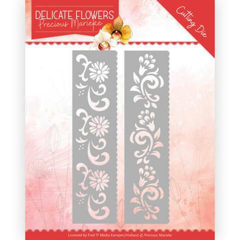 Precious Marieke Delicate Flowers stanssisetti Delicate Flower Border