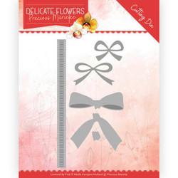 Precious Marieke Delicate Flowers stanssisetti Delicate Bow