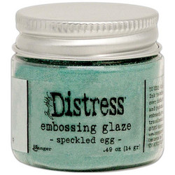 Tim Holtz Distress Embossing Glaze -jauhe, sävy Speckled Egg
