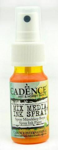Cadence Mix Media Ink Spray, sävy Sunshine