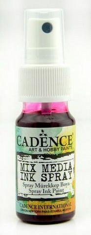 Cadence Mix Media Ink Spray, sävy Magenta