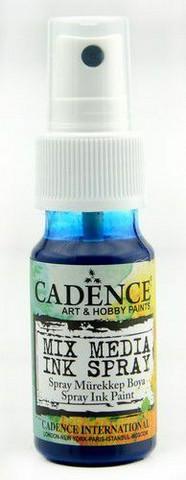 Cadence Mix Media Ink Spray, sävy Blue