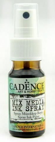 Cadence Mix Media Ink Spray, sävy Black