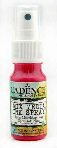 Cadence Mix Media Ink Spray, sävy Light Fuchsia