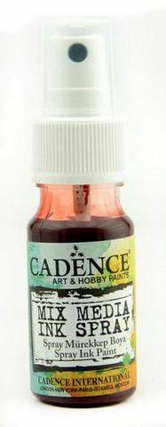 Cadence Mix Media Ink Spray, sävy Red