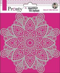 Pronty sapluuna Mandala 4 by Jolanda
