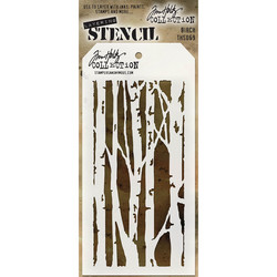 Tim Holtz Birch -sapluuna