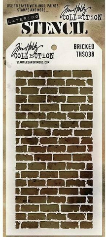 Tim Holtz Bricked -sapluuna