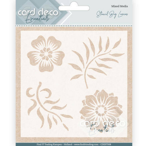 Card Deco Essentials sapluuna Big Leaves