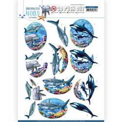 Amy Design Underwater World 3D-kuvat Big Ocean Animals