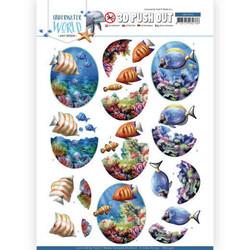 Amy Design Underwater World 3D-kuvat Saltwater Fish
