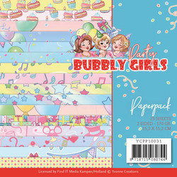 Yvonne Creations paperipakkaus Bubbly Girls Party