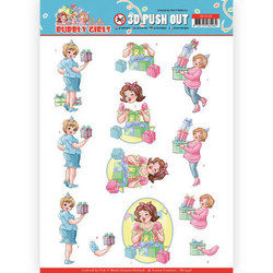 Yvonne Creations Bubbly Girls Party 3D-kuvat Decorating