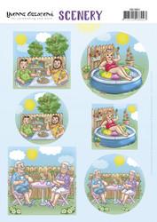 Amy Design korttikuvat Holidays In The Garden