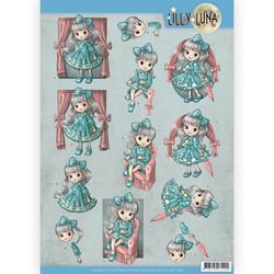 Lilly Luna 3D-kuvat Lovely Bows, leikattava