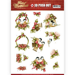 Precious Marieke Touch of Christmas 3D-kuvat Birds