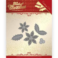 Precious Marieke Touch of Christmas stanssisetti Poinsettia