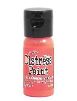 Distress Paint -akryylimaali, sävy abandoned coral