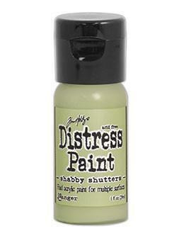 Distress Paint -akryylimaali, sävy shabby shutters