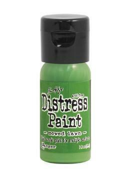 Distress Paint -akryylimaali, sävy mowed lawn