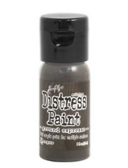 Distress Paint -akryylimaali, sävy ground espresso